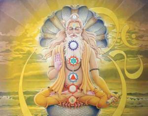 Patanjali in meditation